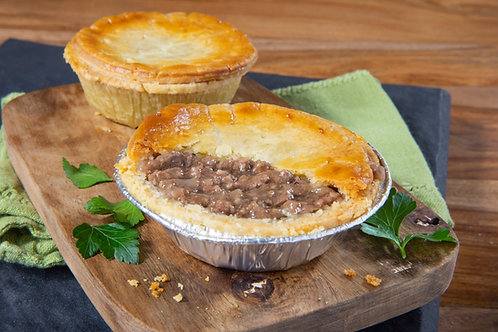 Baked Beef Pies 4 pack