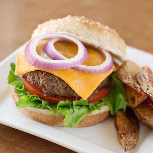 Steakhouse Style Beef Burgers