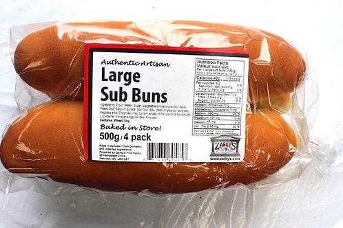 Large Sub Buns