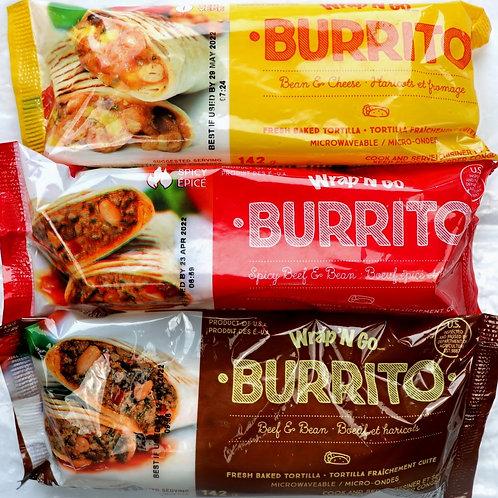 Wrap N' Go Burritos / variety