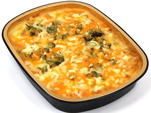 Frozen Creamy Broccoli & Cheese Potato Casserole