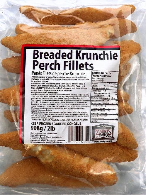 Krunchie Breaded Perch Fillets