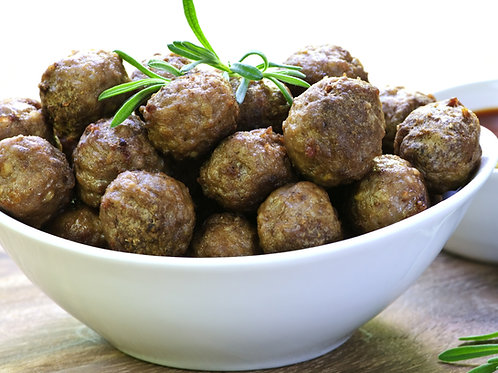 Cooked  Italian Style Cocktail Meatballs