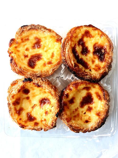 Authentic Portuguese Custard Tarts