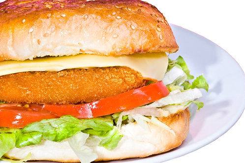 Fully Cooked Buffalo Chicken Breast Burgers