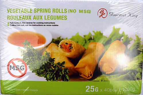 St. Germain Mini Veggie Spring Rolls
