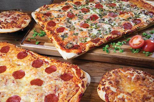 Italian Style Full Slab Bread Pizza