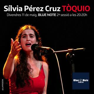 Sílvia Pérez Cruz l'11 de maig a Tòquio
