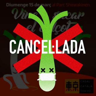 Calçotada 2020 cancel·lada :(