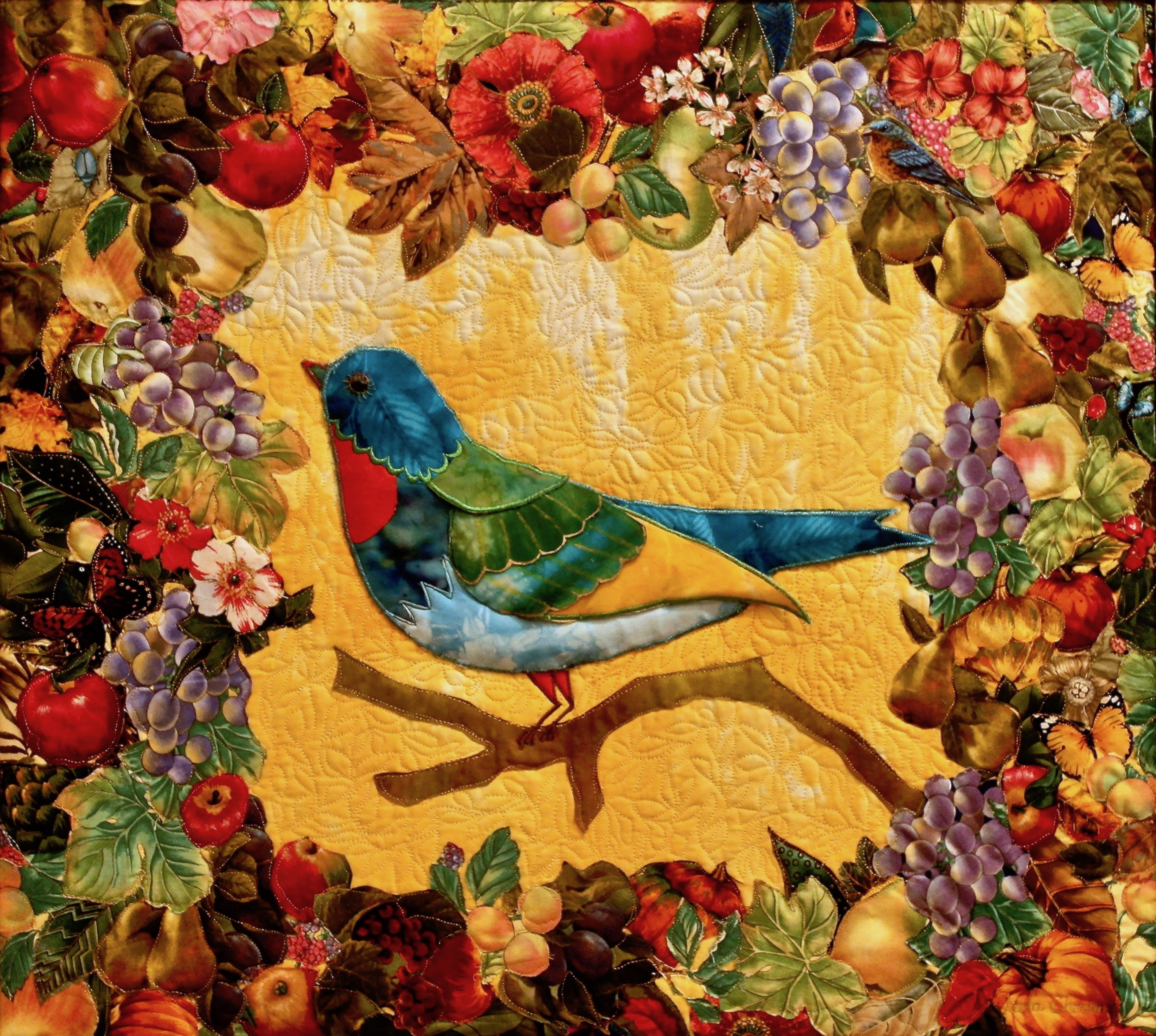 Bird in the Orchard