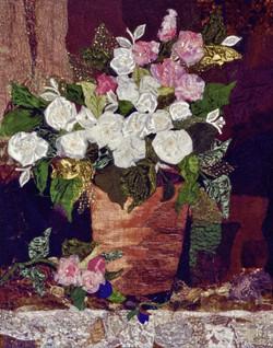 Flower Pot on Ledge