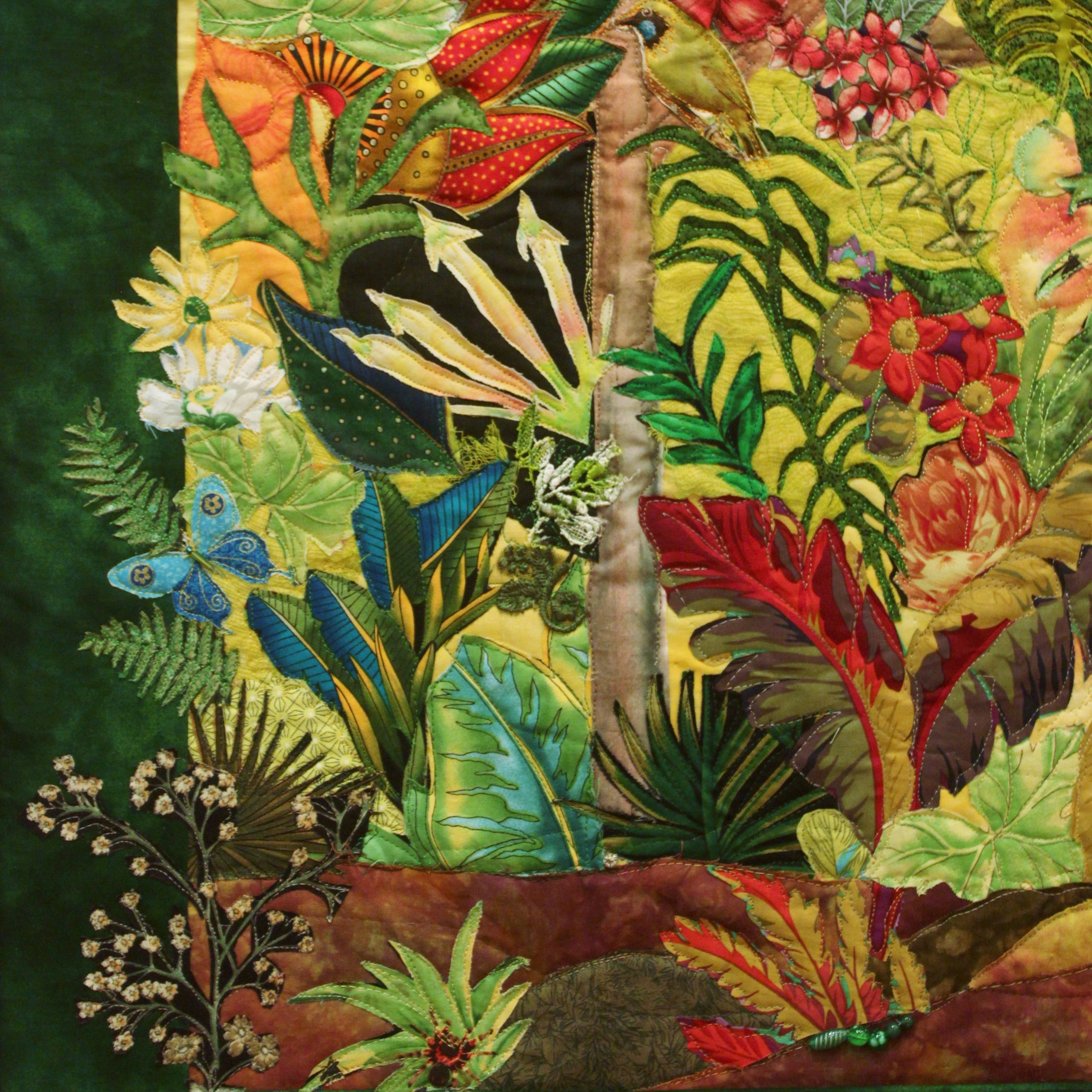 Exotic Garden, Detail