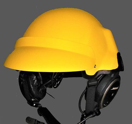 Helmet with sun bill