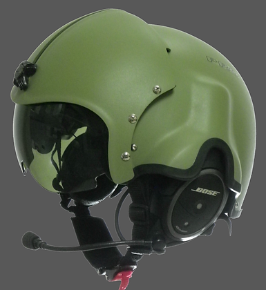 Standard helmet with visor