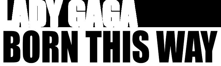 born this way official album logo_vector