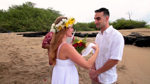 Hawaii Beach Wedding Video