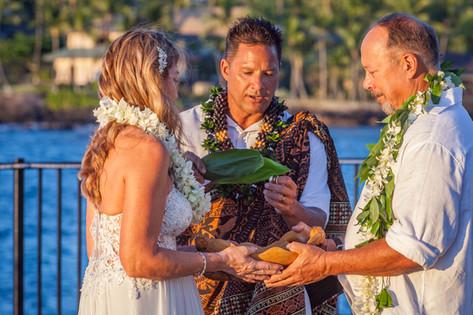 Blessing Rings in Kailua-Kona Wedding.jpg