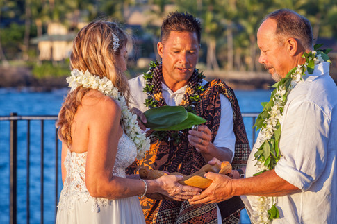 Blessing Rings in Kailua-Kona Wedding.jpg