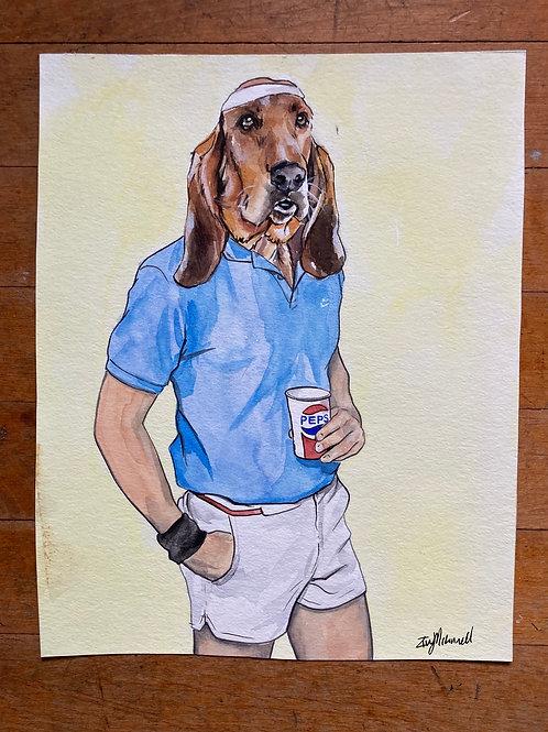 1980's Pepsi Dog