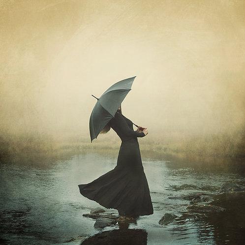 Dancing in the rain - Alu/plexi