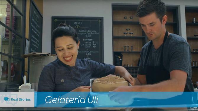 Project Spotlight: Gelateria Uli