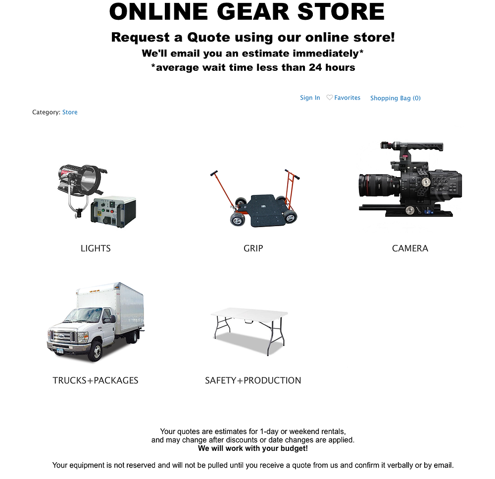 Capstone's Easy Clickable Online Gear Store