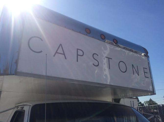 Lettering for Capstone's Grip Truck!