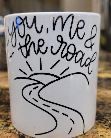 You, Me & The Road Mug