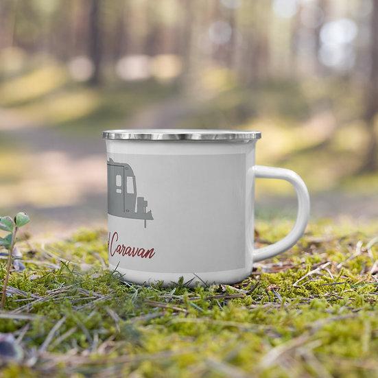 Enamel Mug The Only Cool Carvan