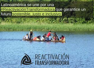La sociedad civil latinoamericana se une en favor de una reactivación transformadora en la región