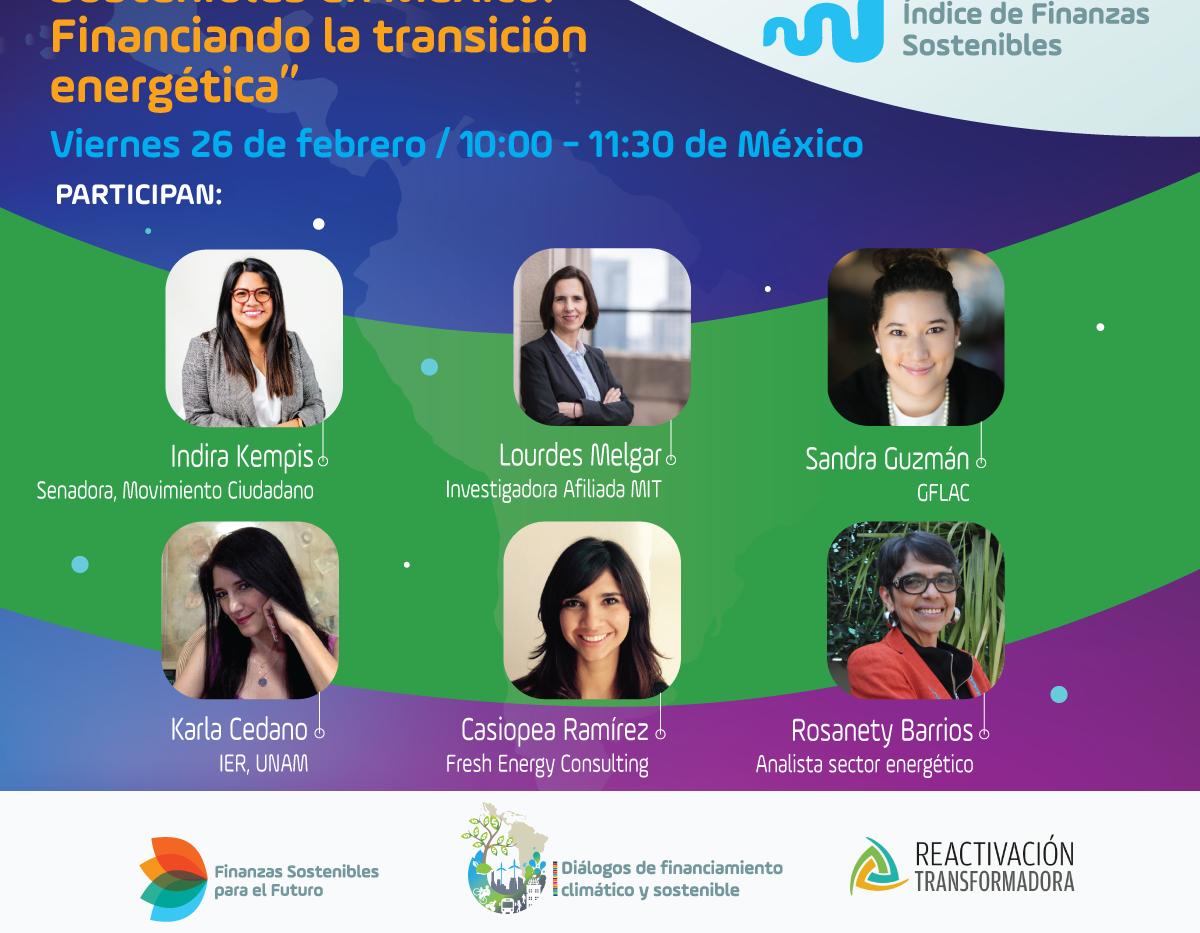 Índice de Finanzas Sostenibles en México: financiando la transición energética