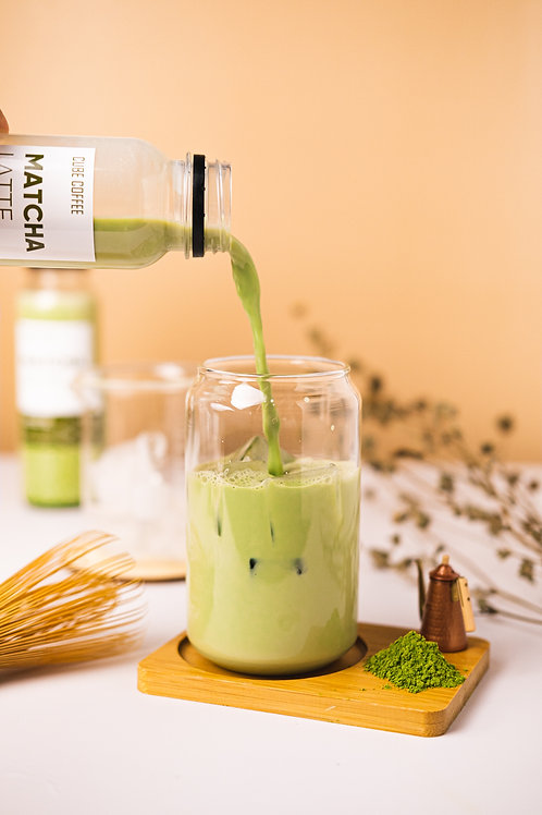 Matcha in a bottle