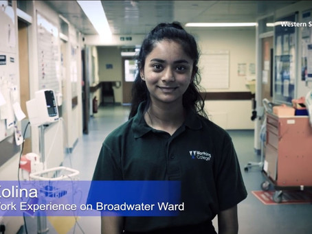 Students' Work Experience at Worthing Hospital