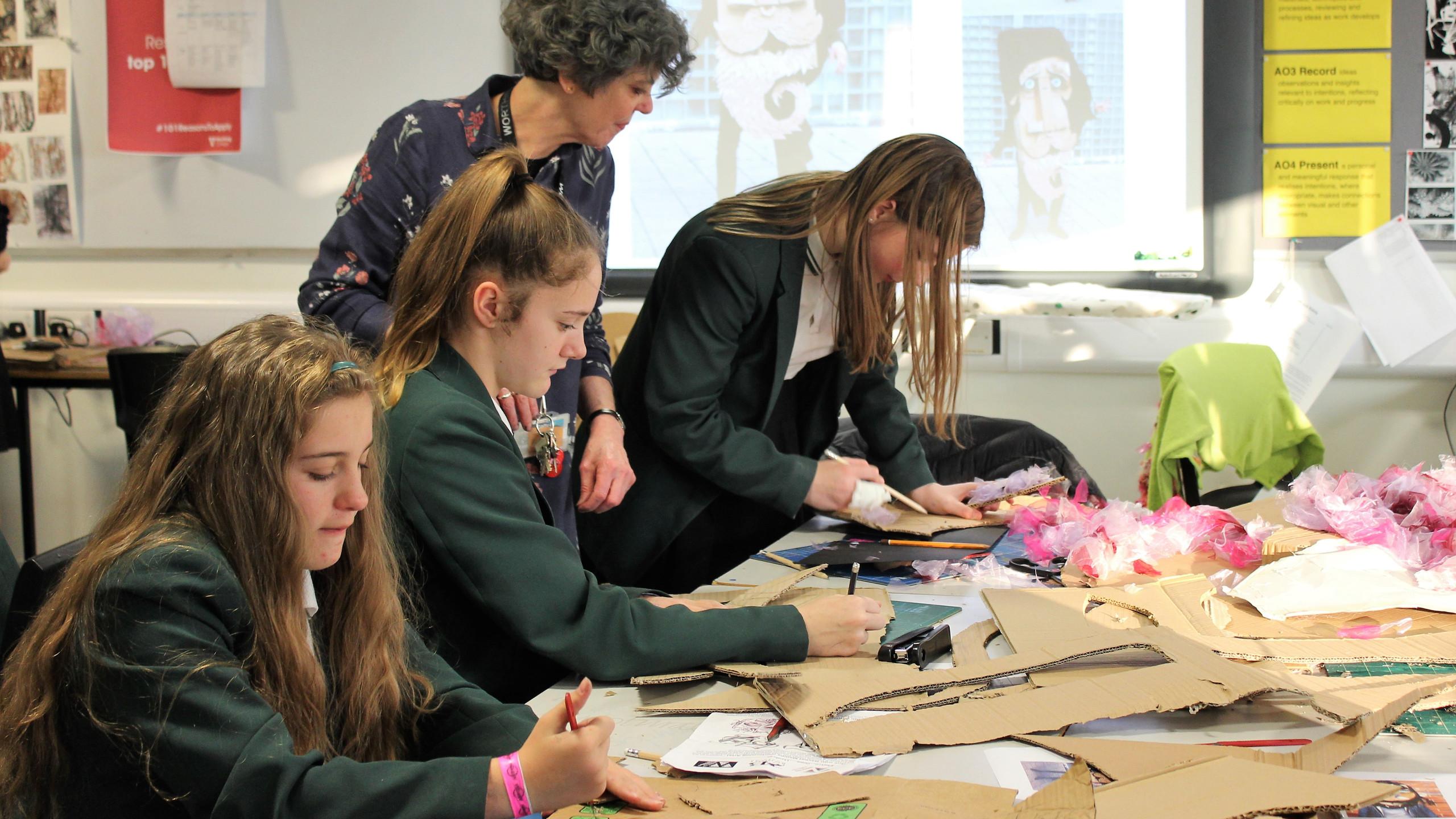 Bohunt students in Visual Arts