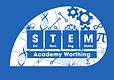 Stem Logo WhiteBLUE.png