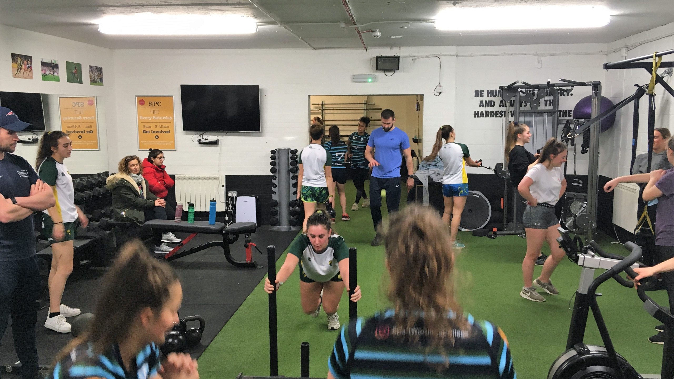 Gym Workout Rugby Girls