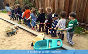 A mixed-age classroom