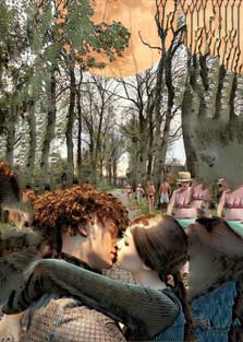 De kus in het preludelaantje