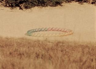 Project 3, meervoudig gekleurde bollen.