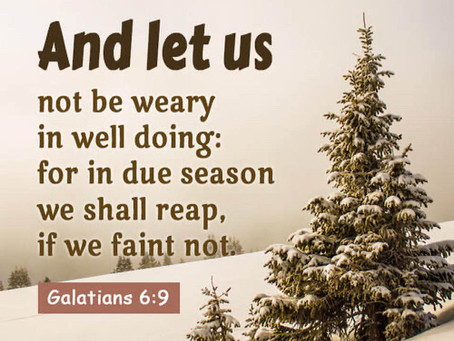 Hold on to Jesus He's got you!