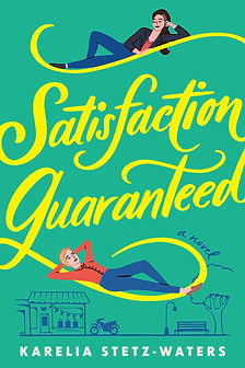 Cover of Satisfaction Guaranteed shows illustration of two women looking at each other