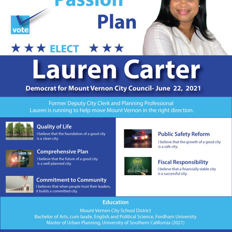 Former Deputy City Clerk Lauren Carter Announces Run for City Council