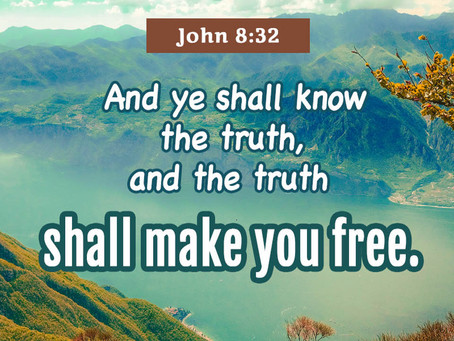 Receive the truth of God and continue to walk in it