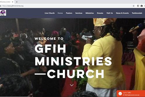 Online Church Platform