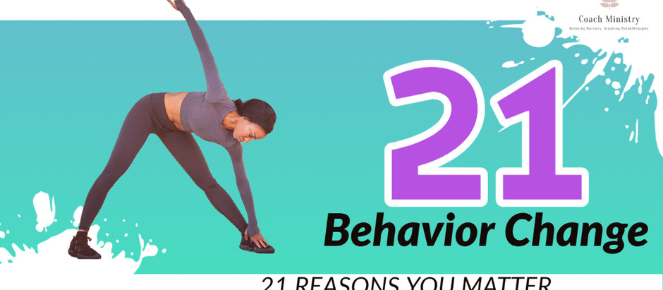 21 Reasons You Matter