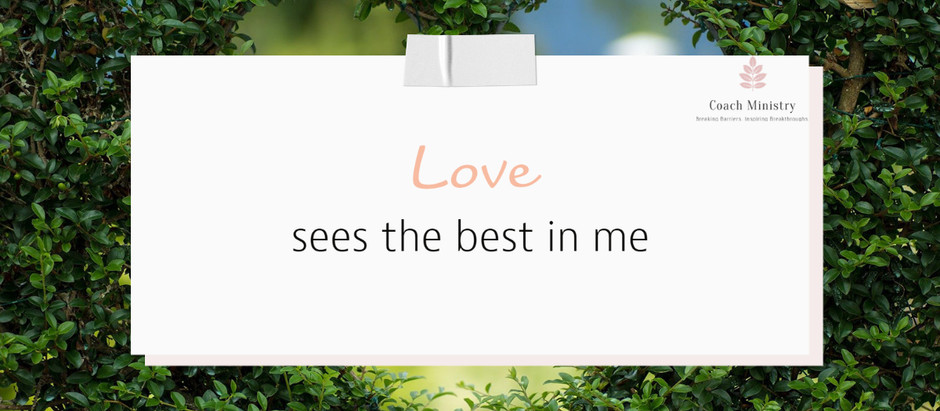 Love Is... No.13 #20IndicatorsofLove