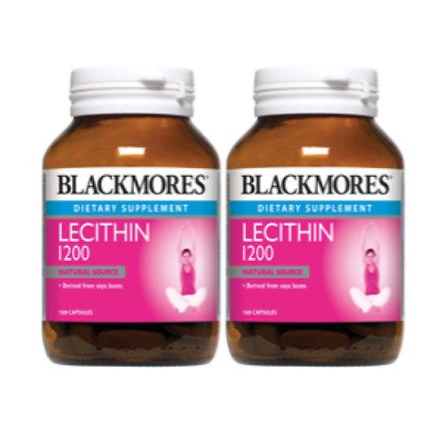 Blackmores Lecithin 1200 (2X100S)