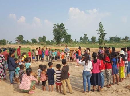 Евангелизация по деревням Камбоджи