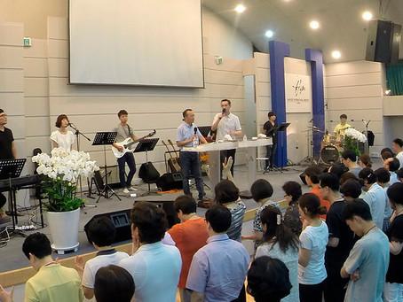 Служение в Школе WLI Ю. Корее