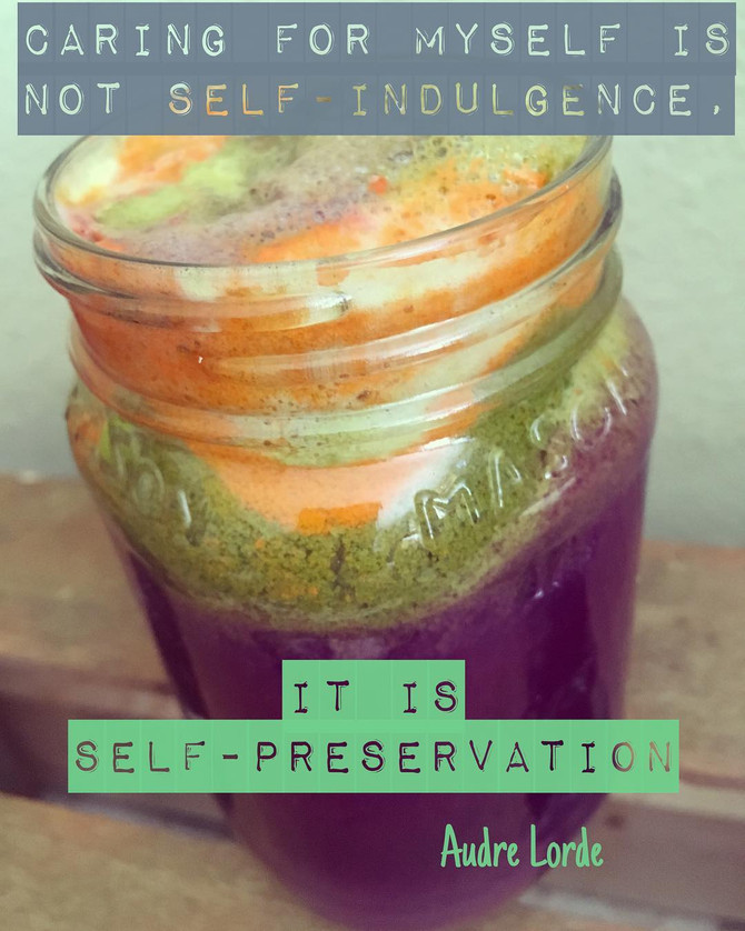 Consistent acts of self-love